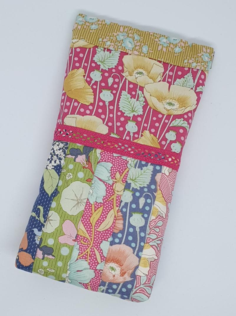 Floral Snap Bag