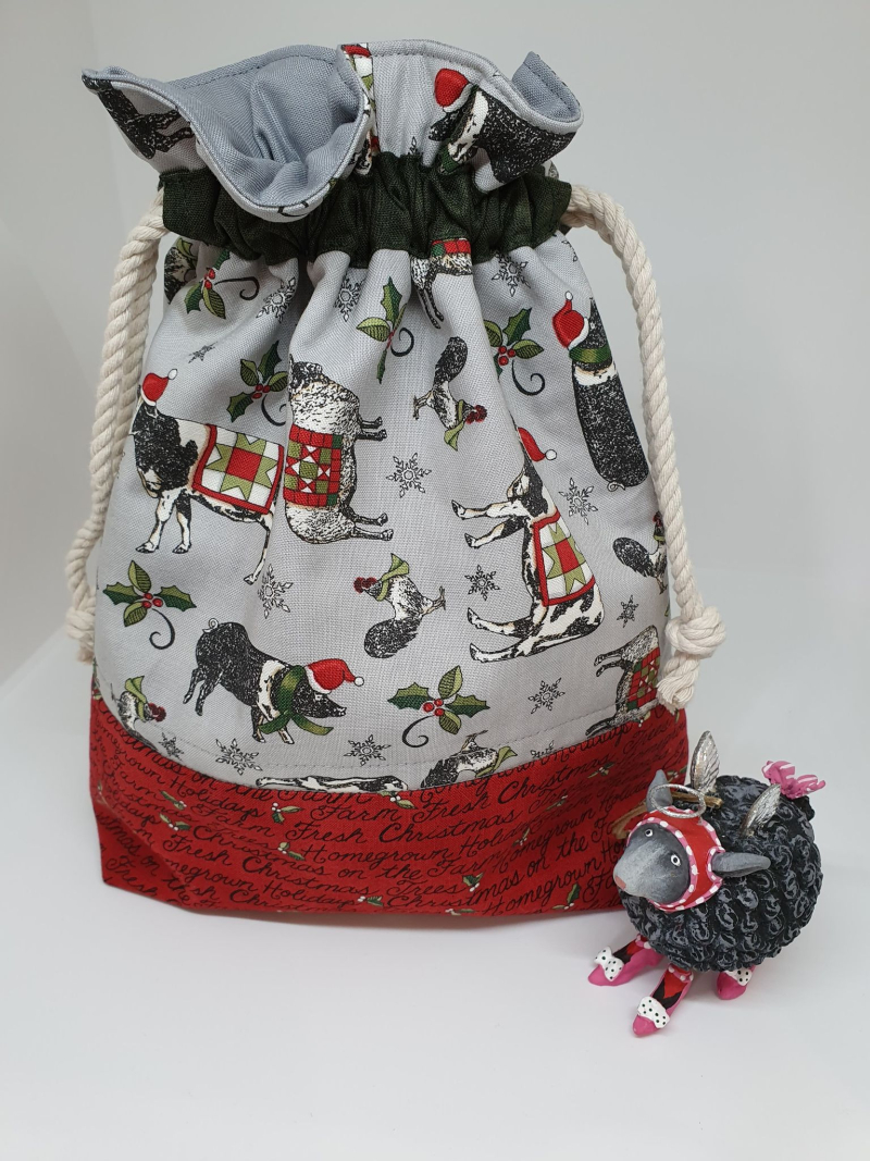 Homegrown Holidays bag