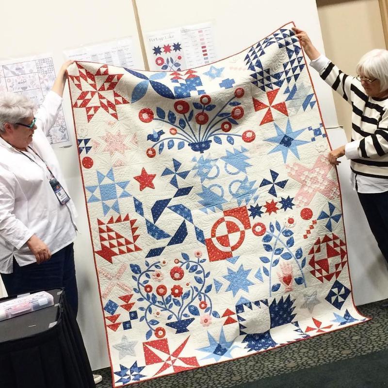 Portage Lake quilt