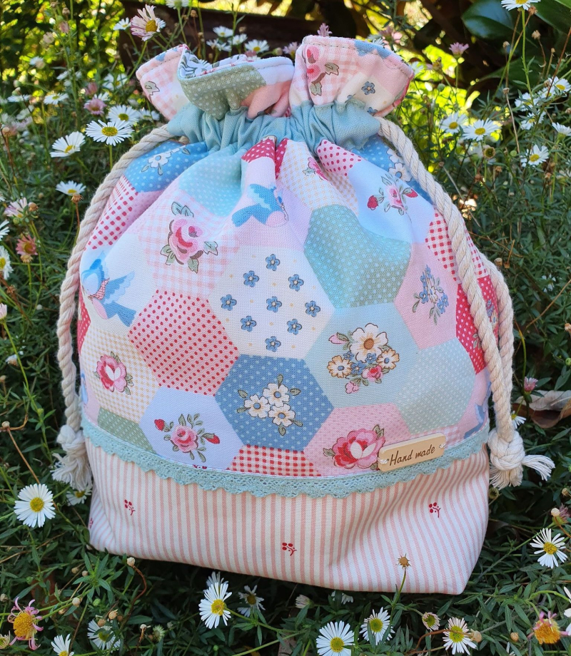 Poppie's bag finished