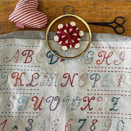 Broderie Embroidery Sampler 3
