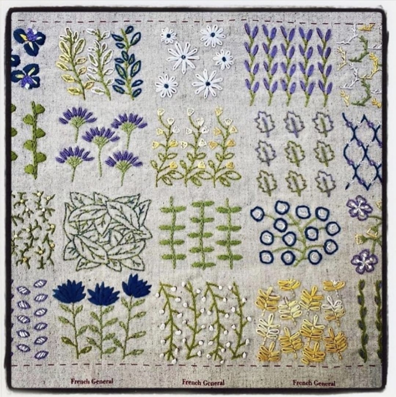 Broderie Embroidery Sampler 1
