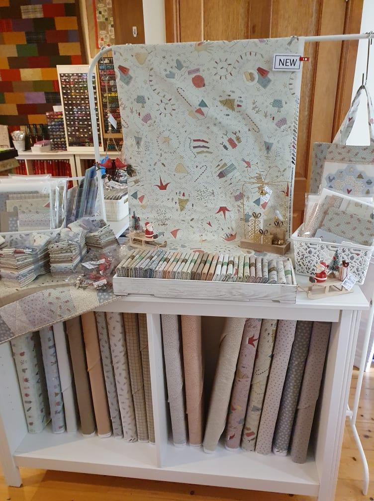 All for Christmas shop display