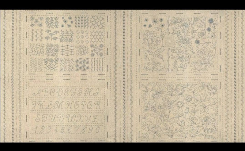 Broderie Embroidery Sampler roche