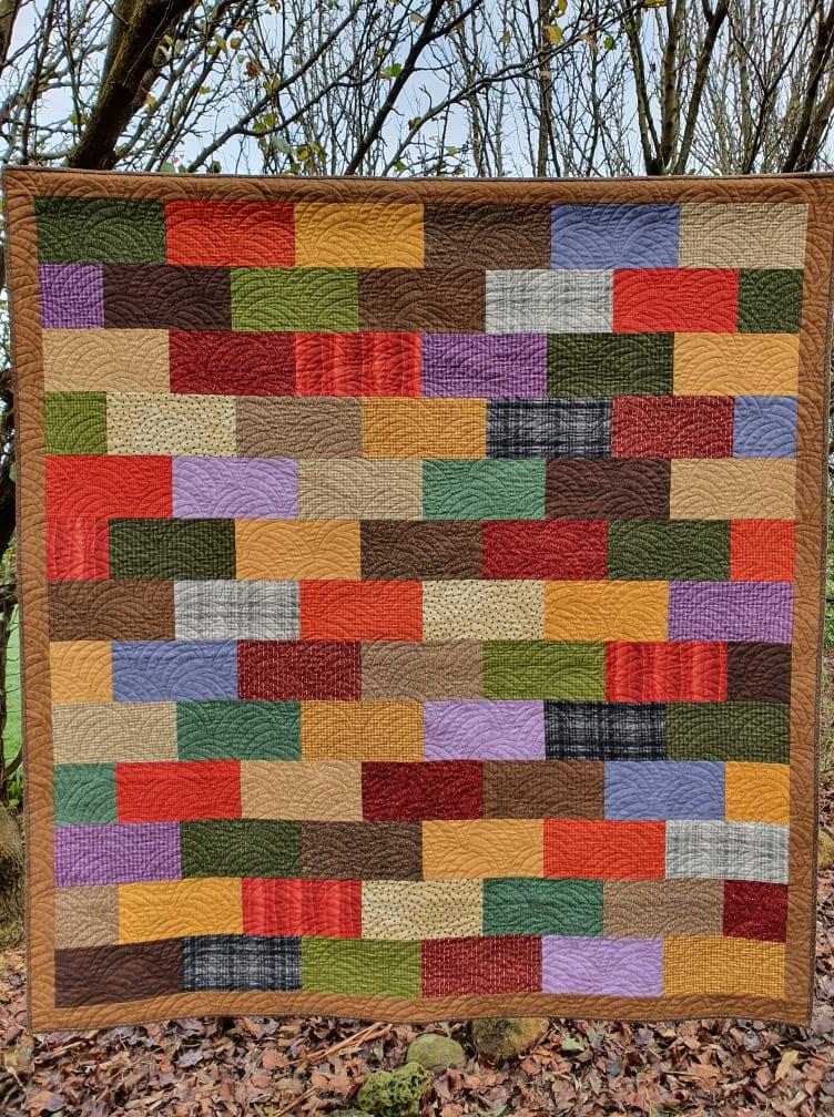 Flannel Bricks Quilt